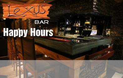 Chill out at our Lexus Bar
