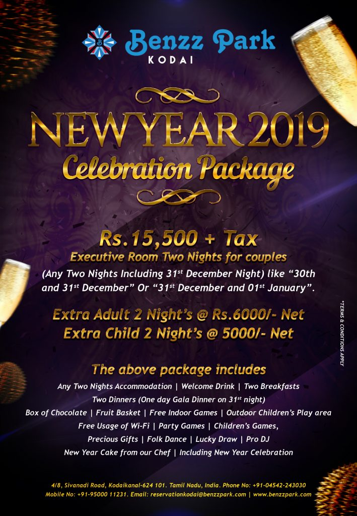 New Year 2019 Celebration Package